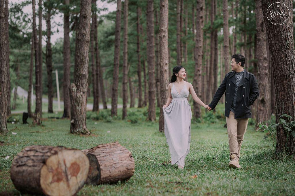 Lạc trong rừng thông Đà Lạt với bộ ảnh cưới đẹp như mơ