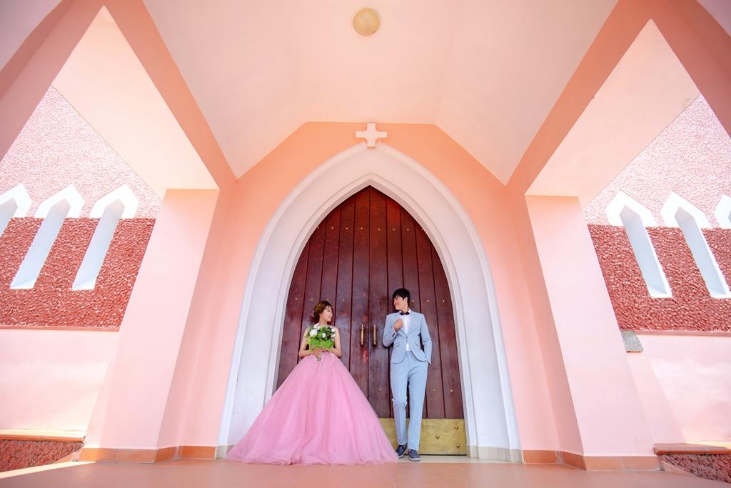 Ảnh cưới nhà thờ Domaine Đà Lạt (Nhà thờ Mai Anh)