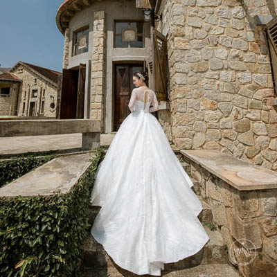 Chụp ảnh cưới ở Nhà Hàng Phù Đổng Đà Lạt