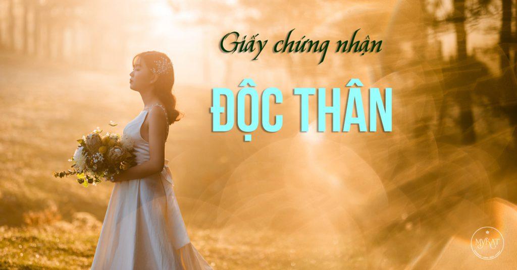 giay chung nhan doc than