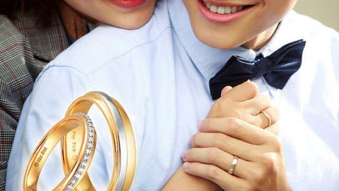 Nhẫn đính hôn PNJ sánh duyên thể hiện được sự gắn kết cũng như đồng điệu với nhau